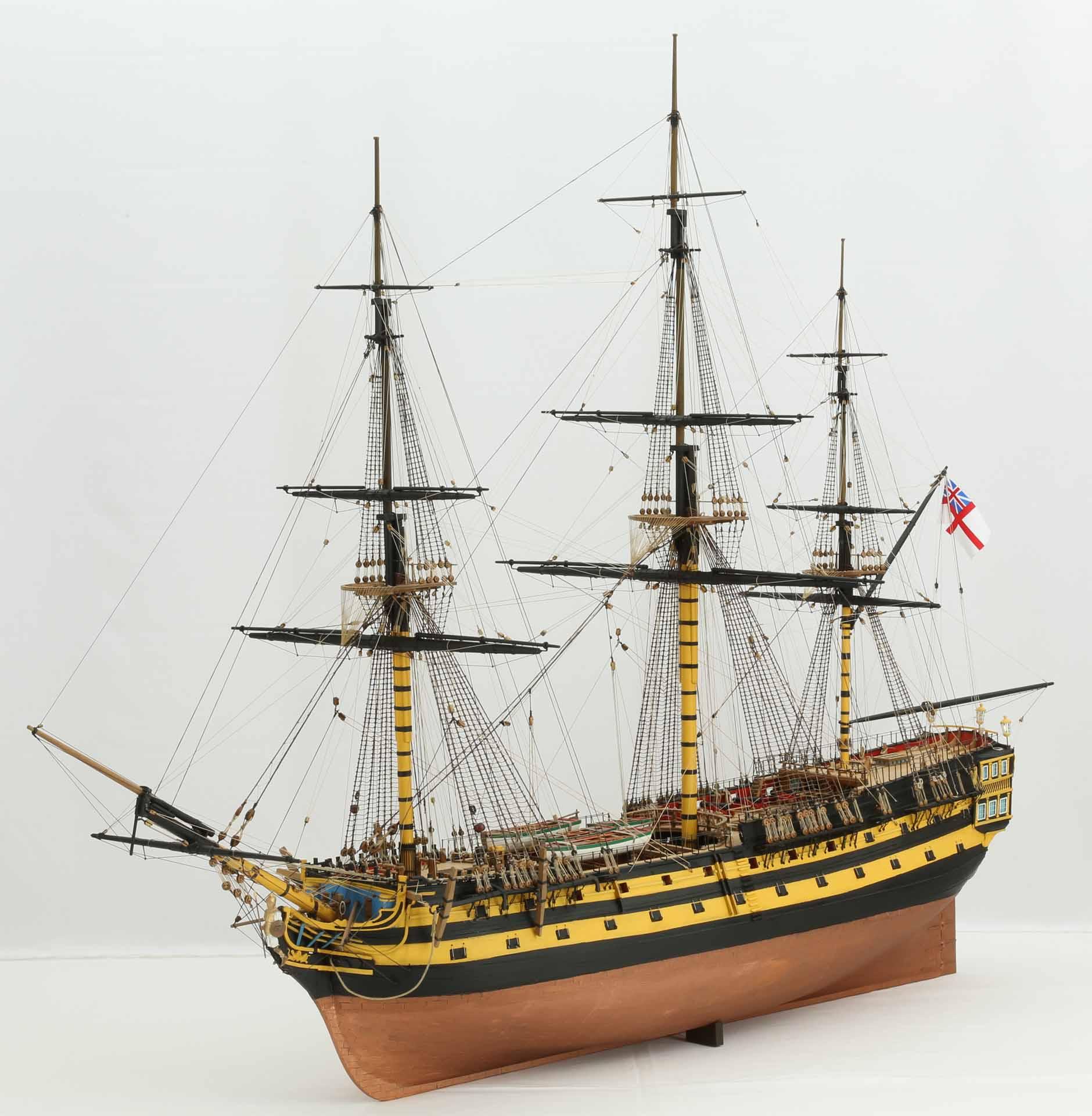 Line Of The British Ship Models Wiring Diagrams Design Boost Buck Converter Using Hv9930 Model Hms Agamemnon 1781 64 Gun Ships From