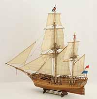 Schiffsmodell holländische Bombarde