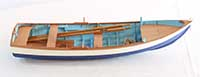 Ship model coble from Perth, Scotland, early 20th century