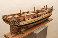 Ship model USS Confederacy of 1778