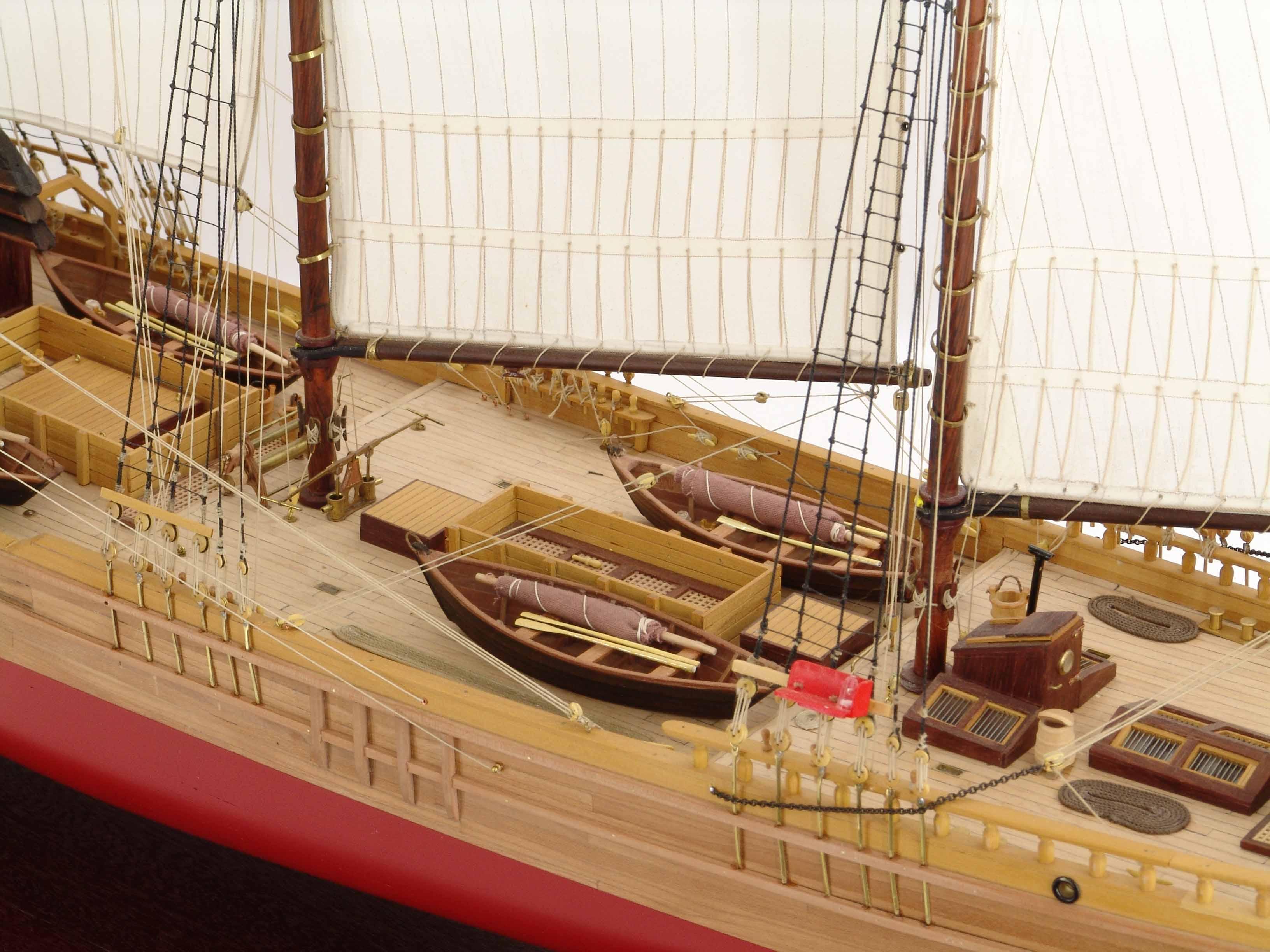 Photos barquentine model COTE D'ÉMERAUDE