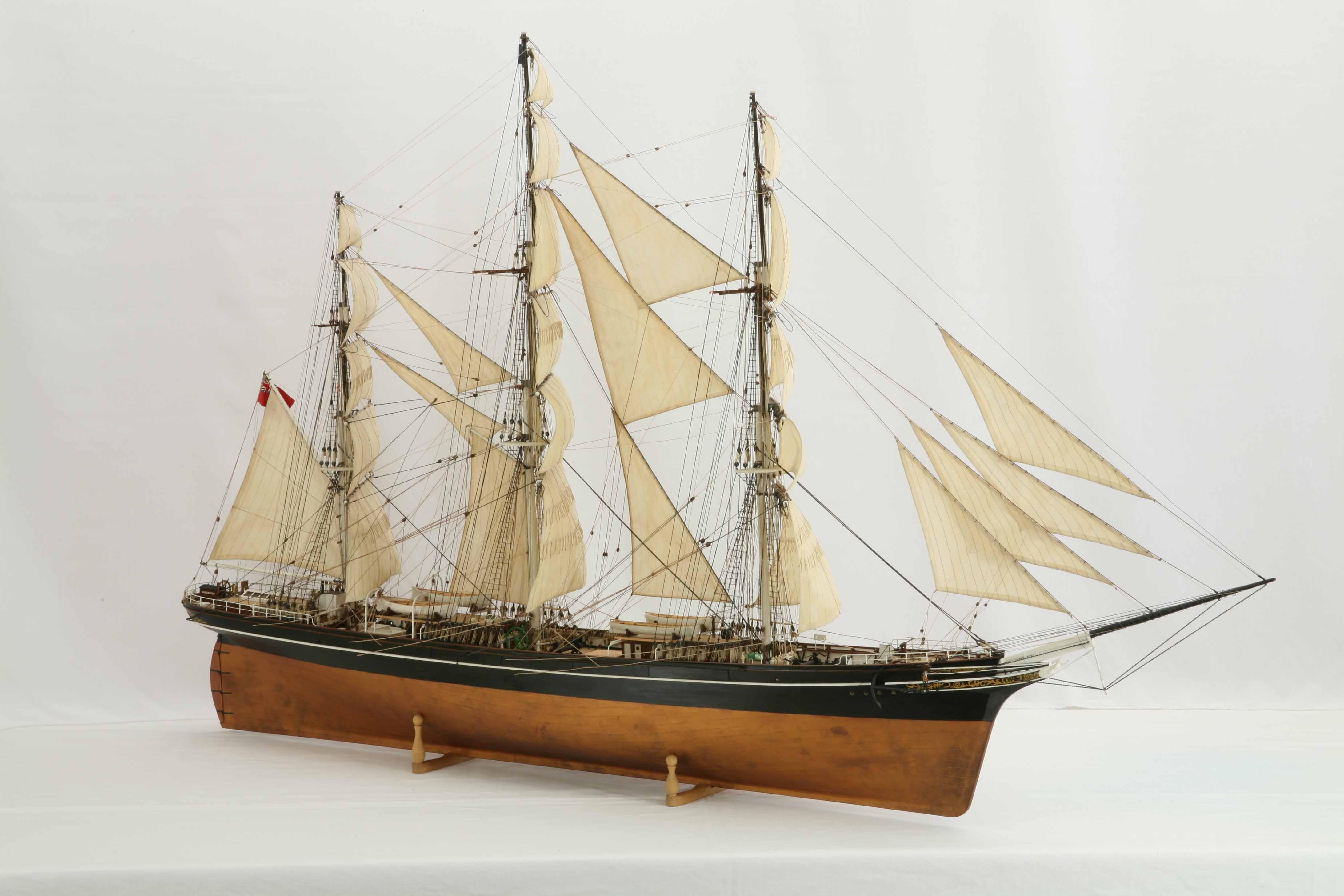 Resume Format: Model Clipper Ship