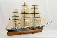 Ship model English tea clipper Cutty Sark of 1869