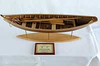 Model of a French cod fishing Dory, early 20th century