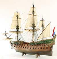 A Dutch twodecker of 1660 / 1670