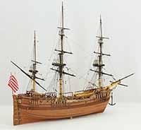Holländische Galiot von 1740