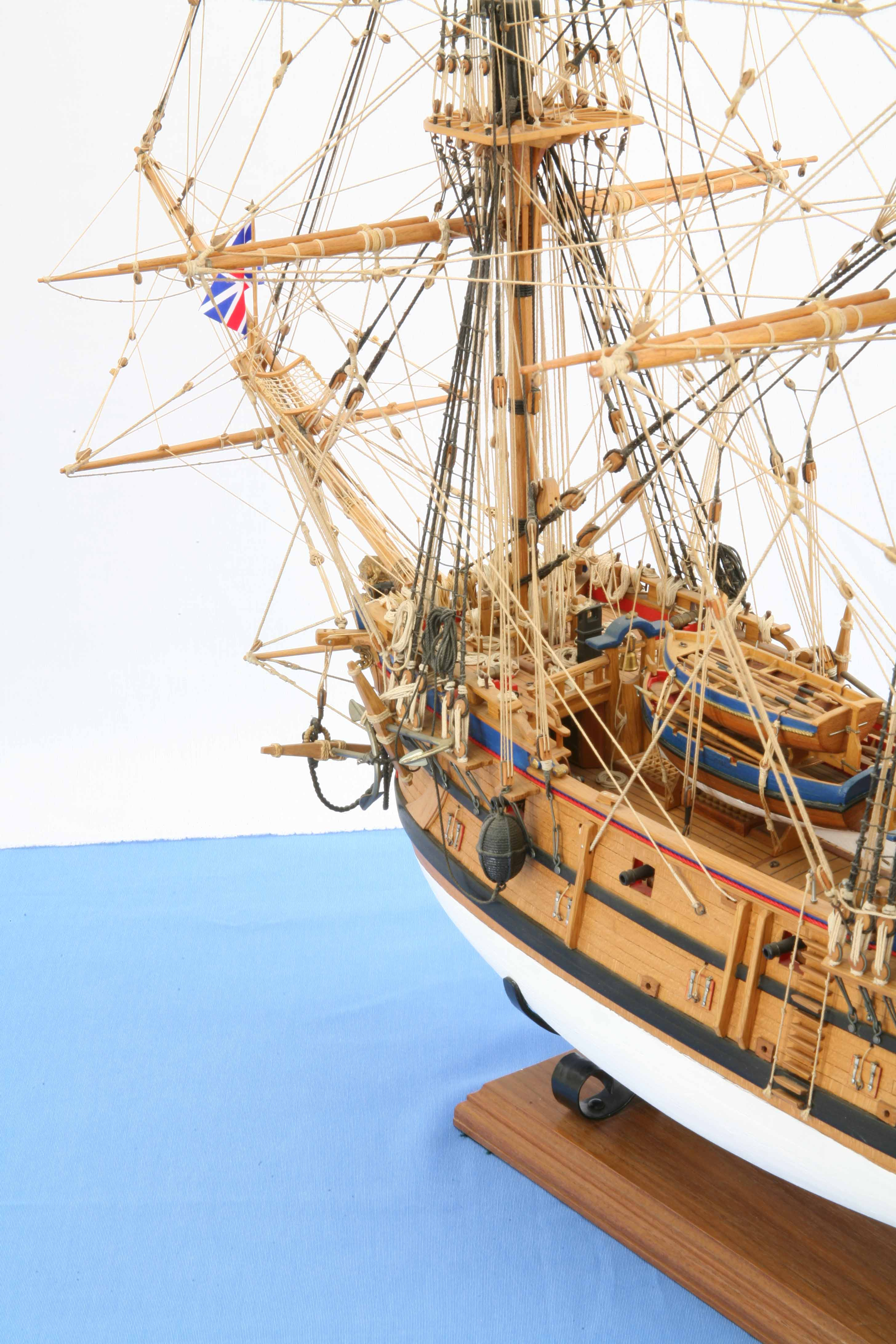Photos Ship Model English East Indiaman Prince Of Wales Of