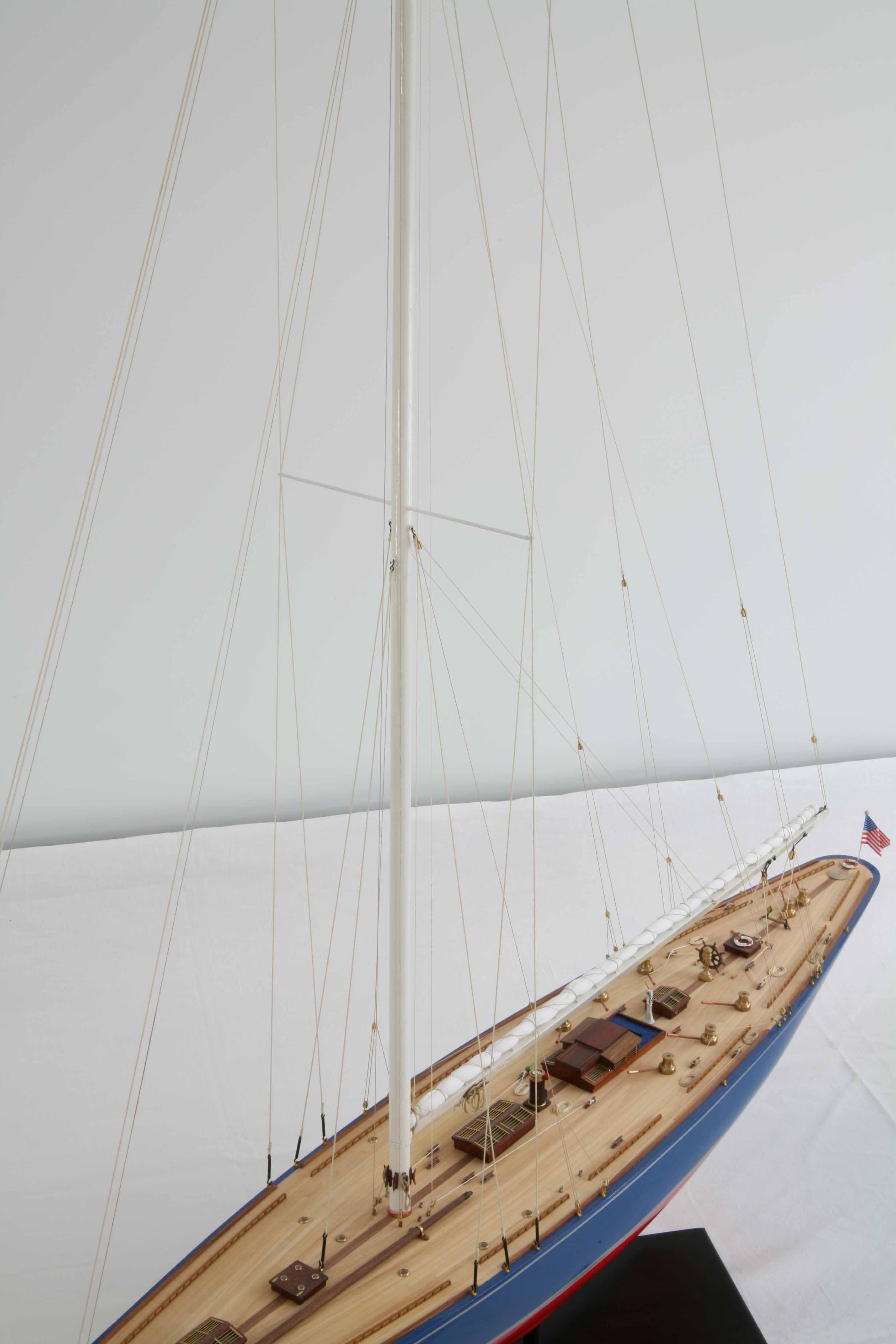 Guide J class model boat plans | Jenni boat plan