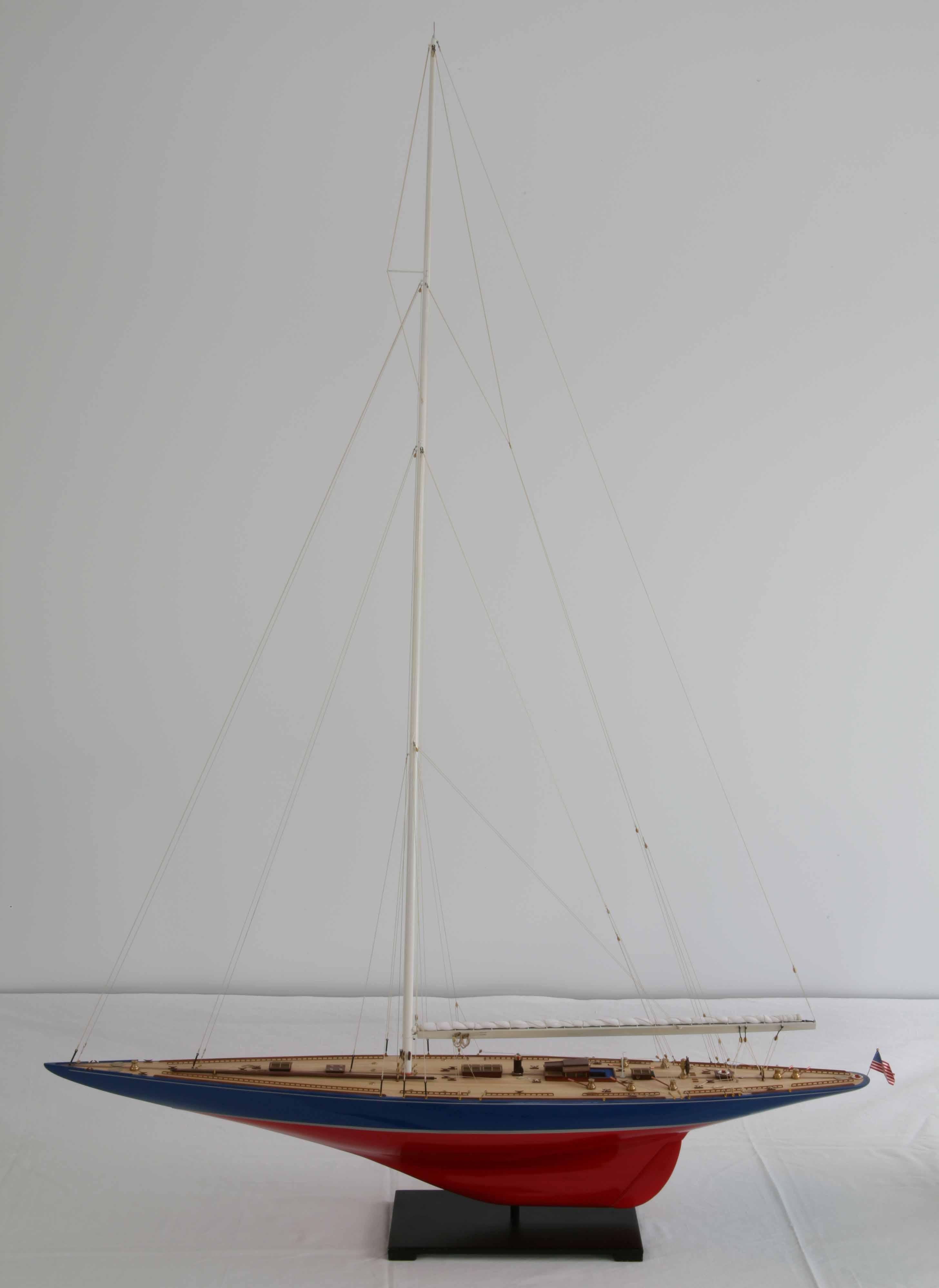 Ship model - J-Class Yacht Endeavour of 1934