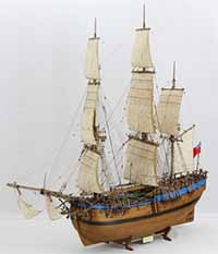 Ship model Endeavour of 1768