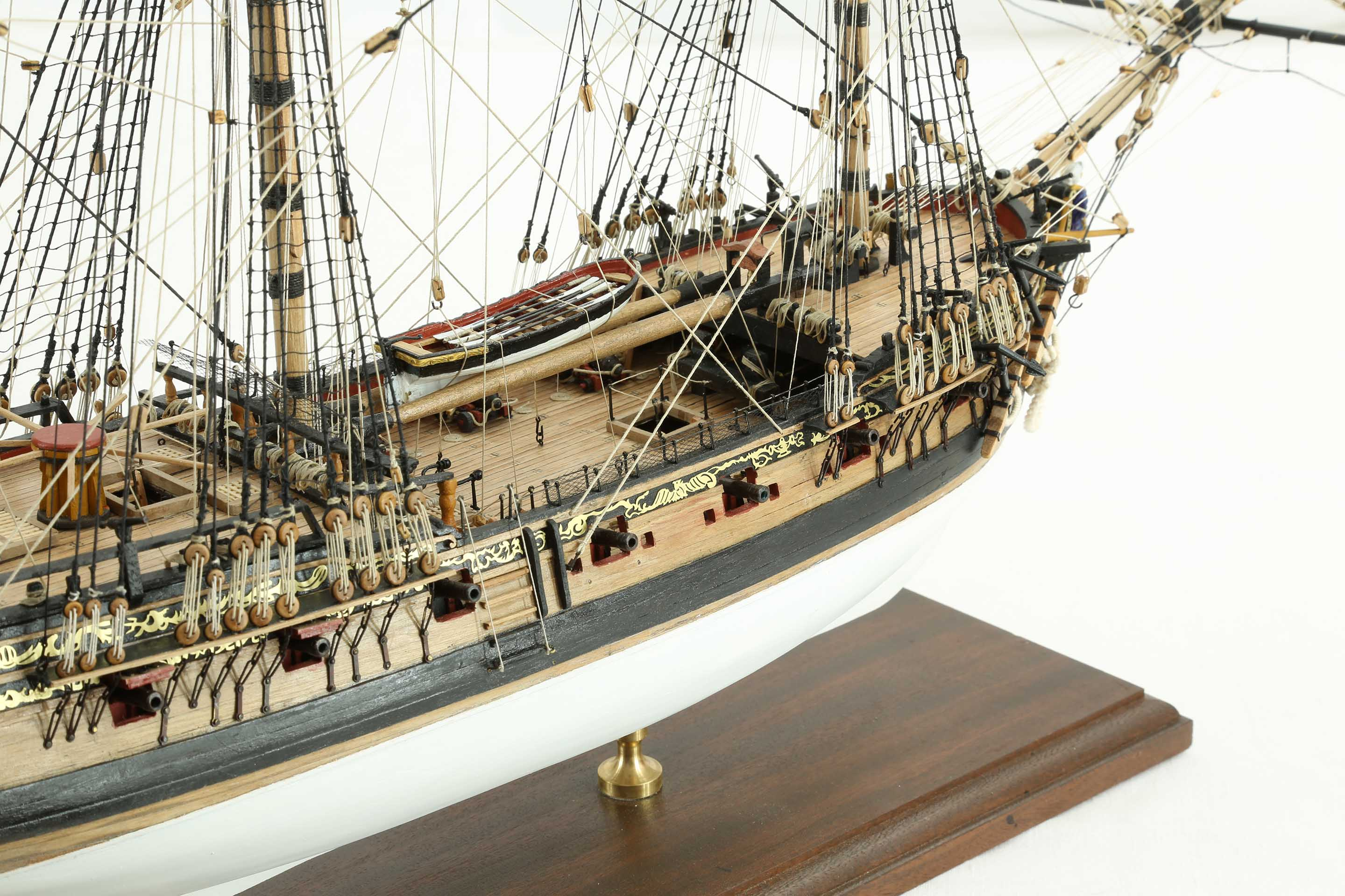 photos ship model hms fly of 1776  close