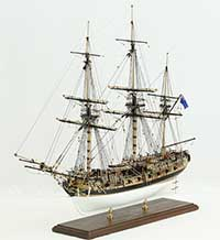 Model ship English HMS FLY of 1776