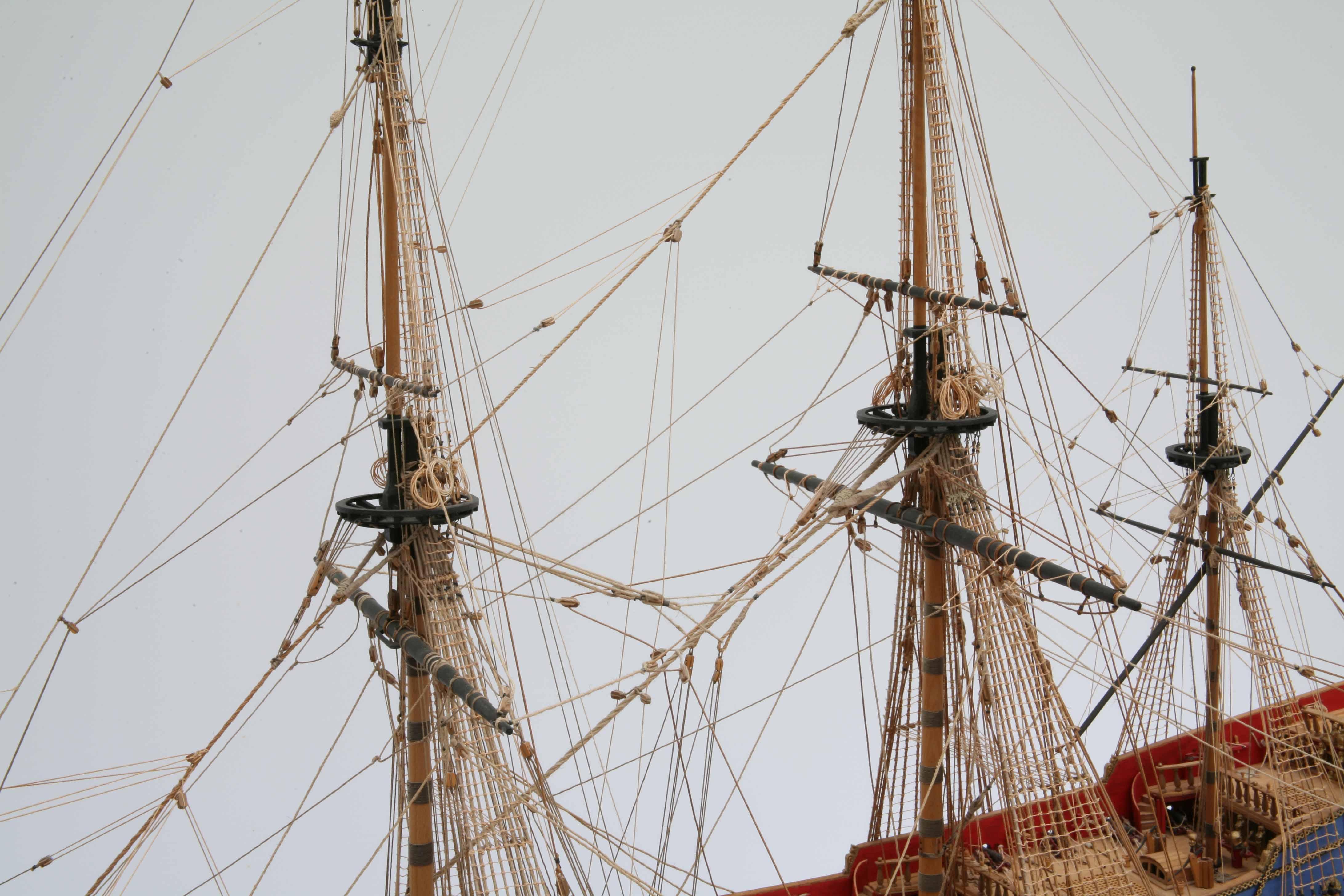 Photos Ship Model Hms Prince Close Up Views