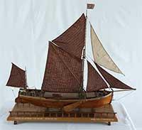 Coastal spritsail barge LADY DAPHNE of 1923