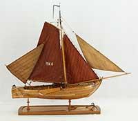 Ship model Marker Botter of 1889