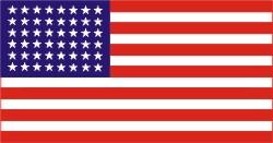 Flagge USA 1912 - 1959