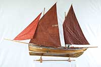 Ship model Scottish Zulu MUIRNEAG SY 486 of 1907
