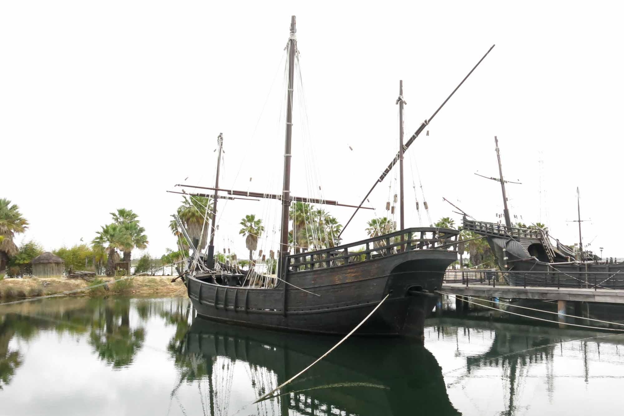 Photos Replicas Of Columbus Ships Santa Maria Pinta And Nina