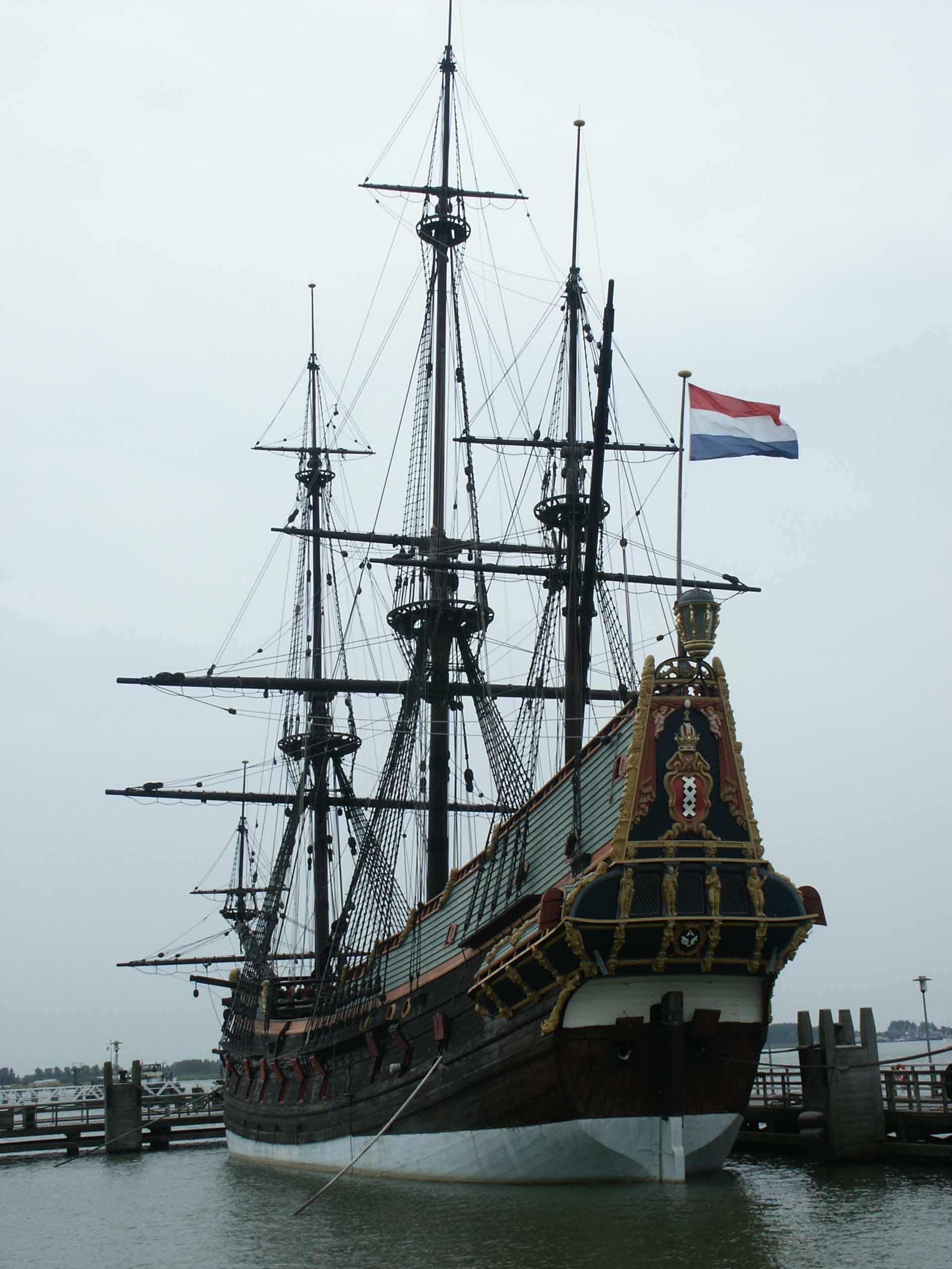 Photos replica VOC ship Batavia 1628