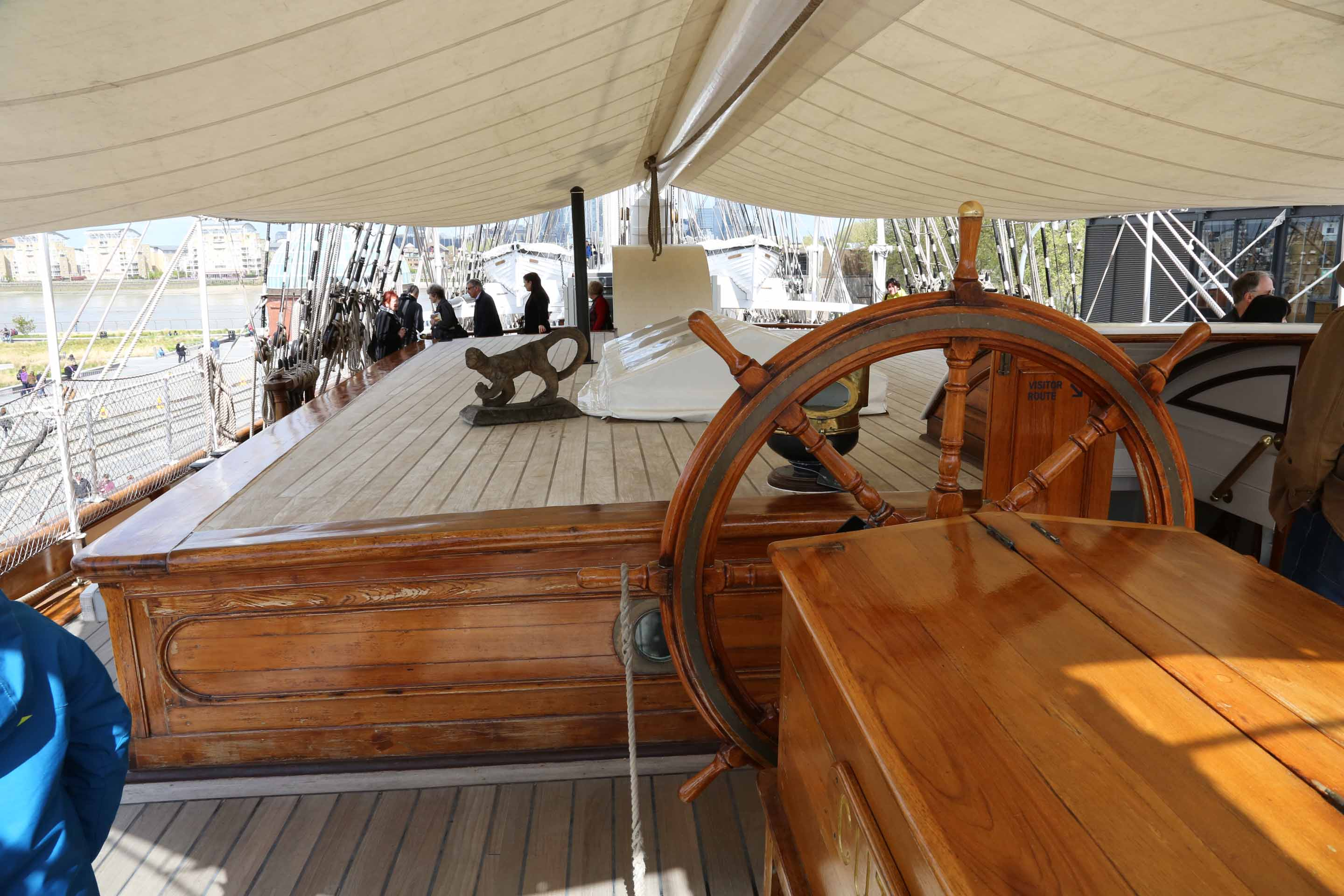 Photos Of Cutty Sark In Greenwich Rigg And Main Deck