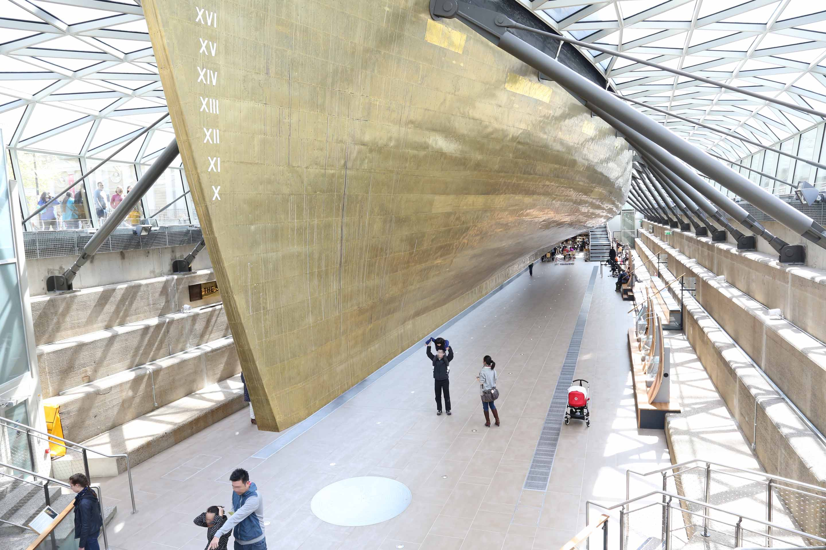 Photos Of Cutty Sark In Greenwich The Hull Under Her