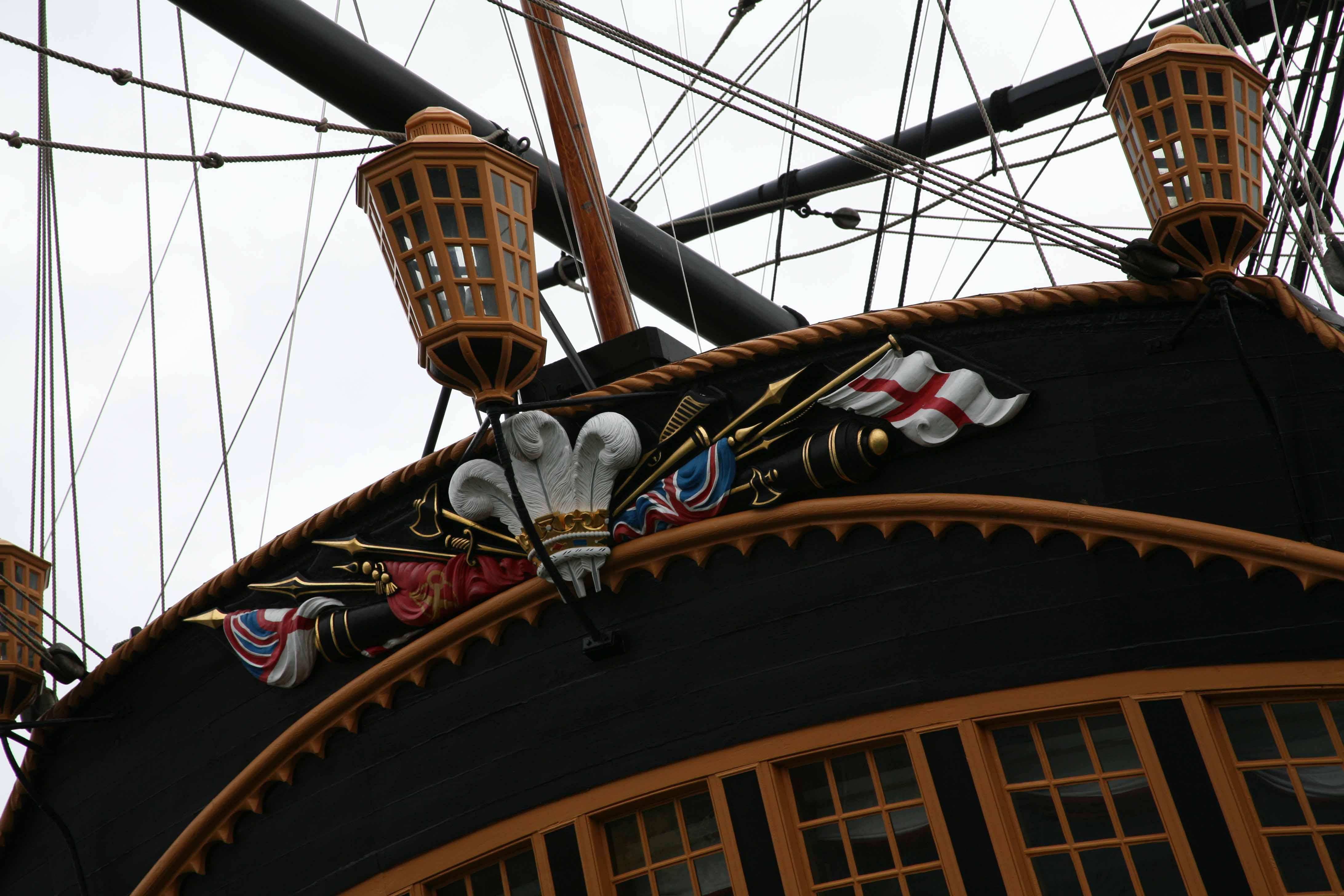 photos hms victory portsmouth uk