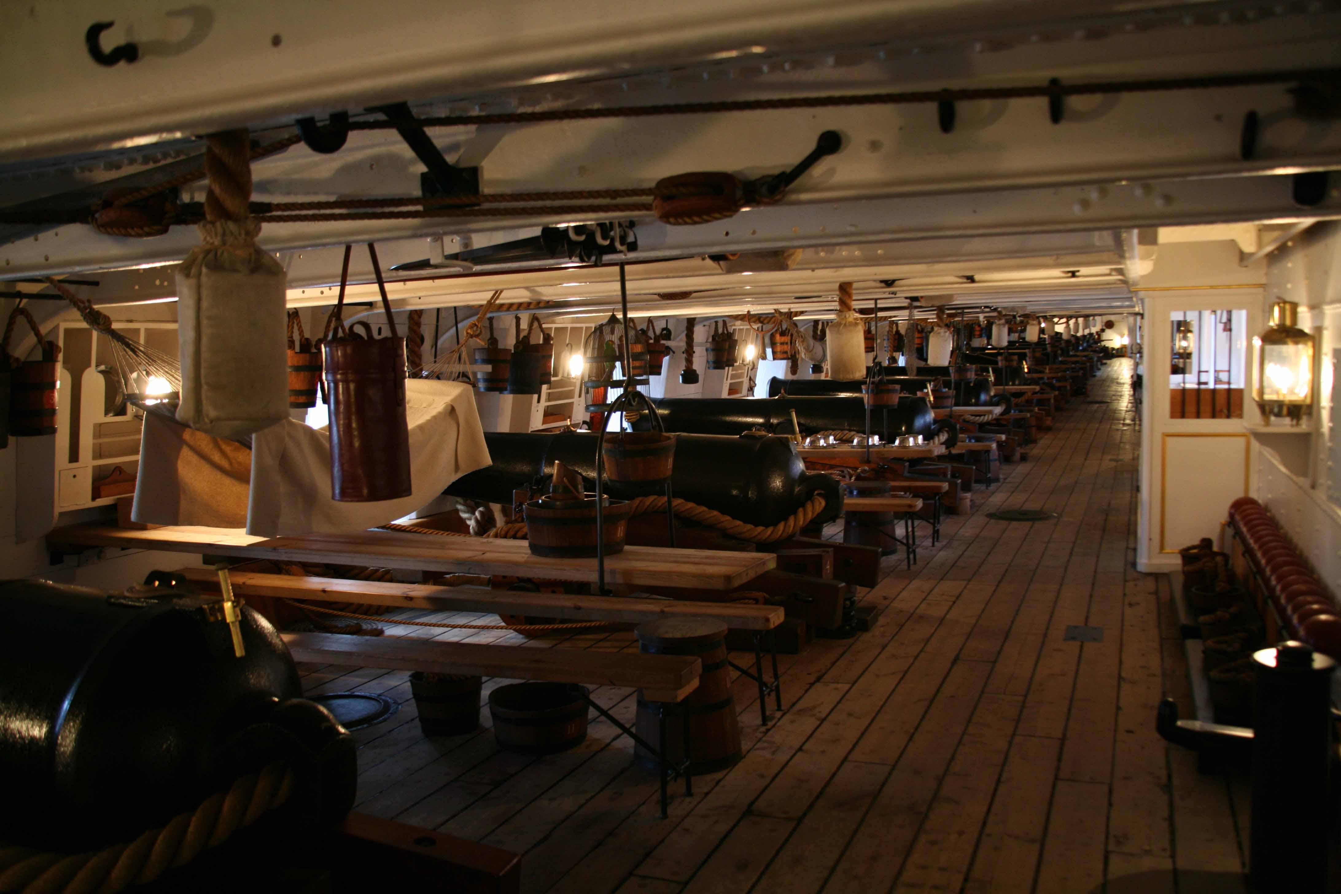 Hms Warrior Of 1860 Portsmouth Historic Dockyard