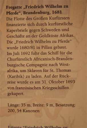 """Brandenburg Frigate """"Friedrich Wilhelm zu Pferde"""" of 1681"""