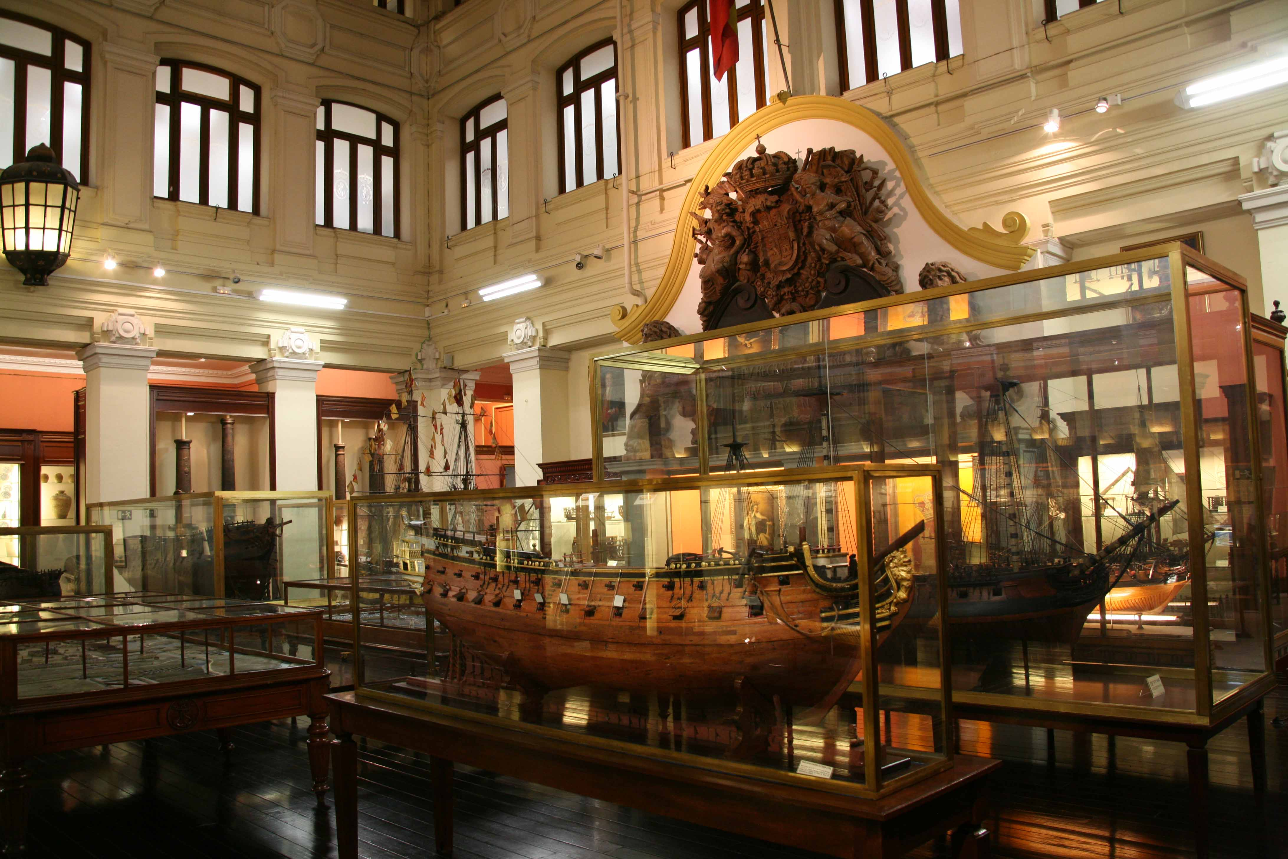Museo Naval, Madrid, the Spanish naval museum
