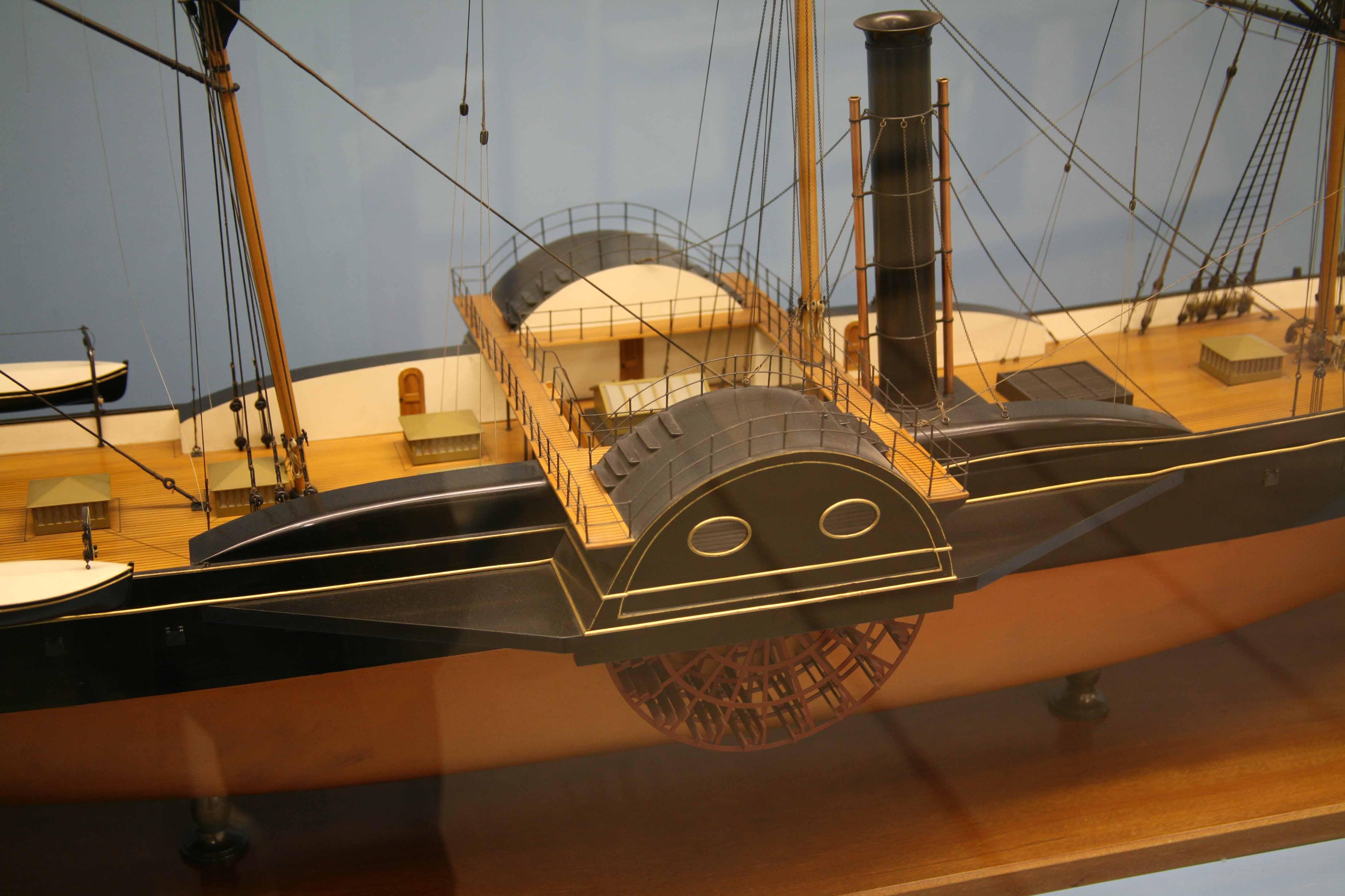 photos ship model great western 1837