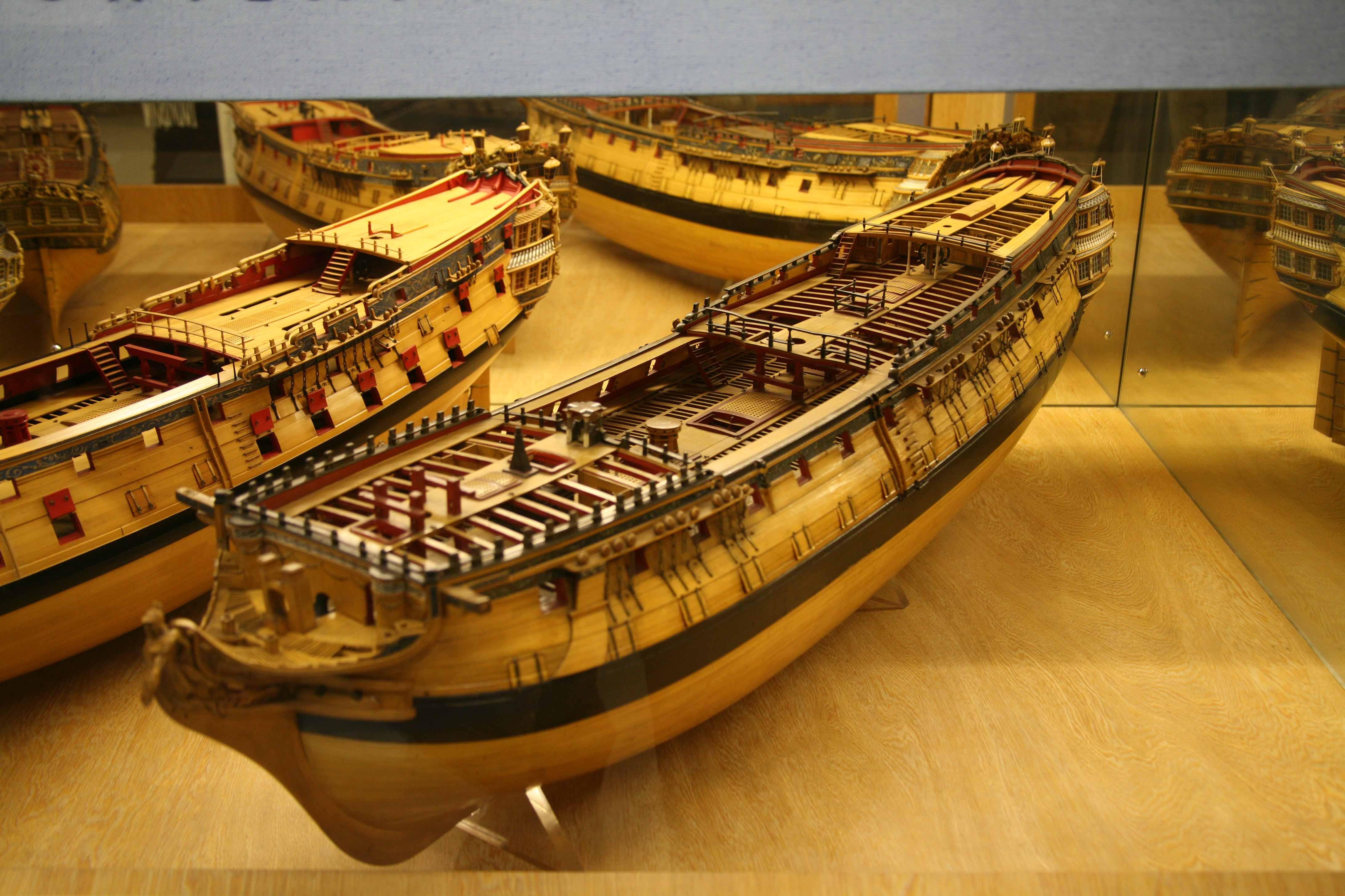 Photos contemporary models of HMS Inconstant of 1783, HMS ...