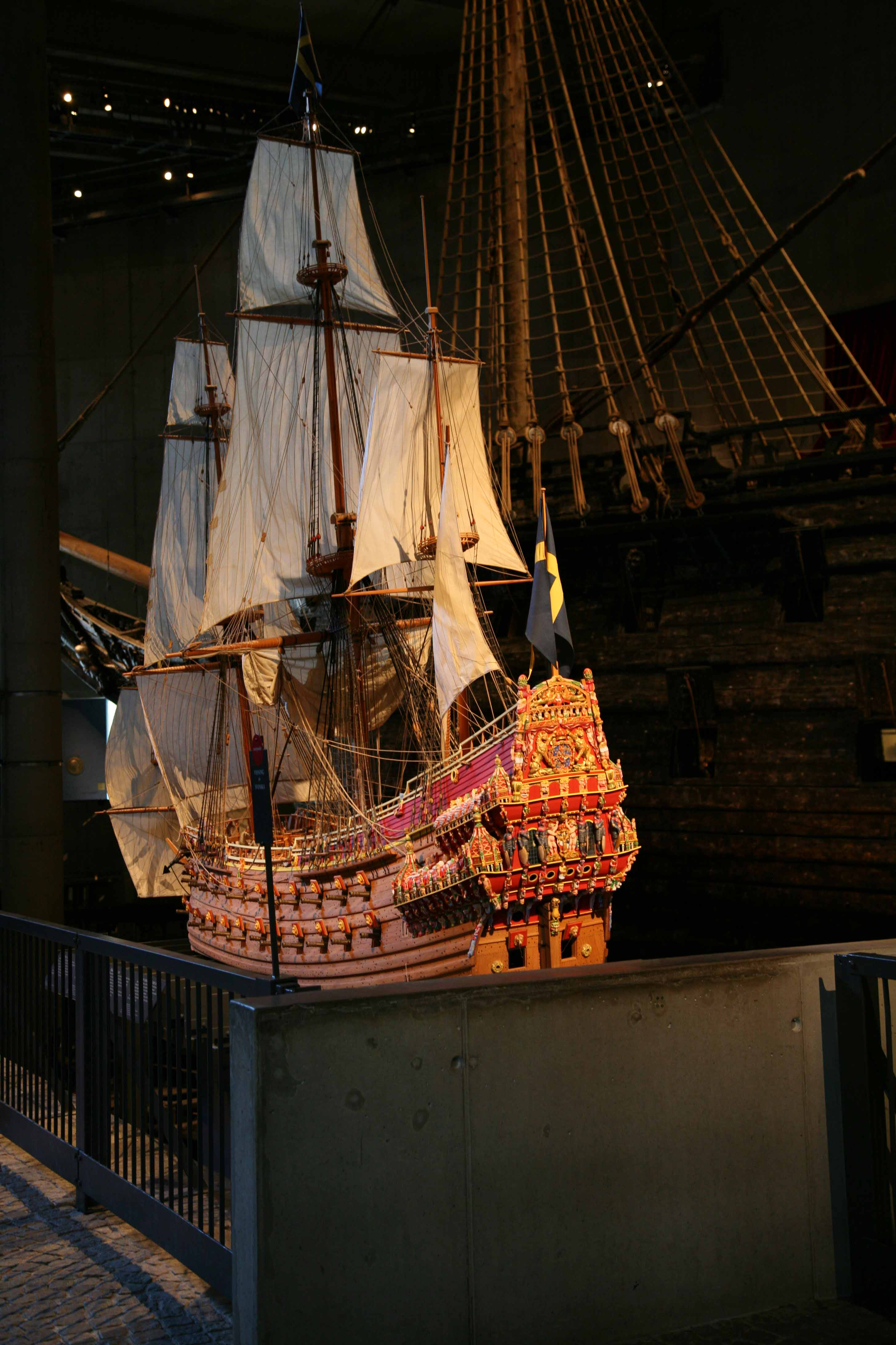 Photos Of Vasa 1   10 Scale Model In The Vasa Museum Stockholm