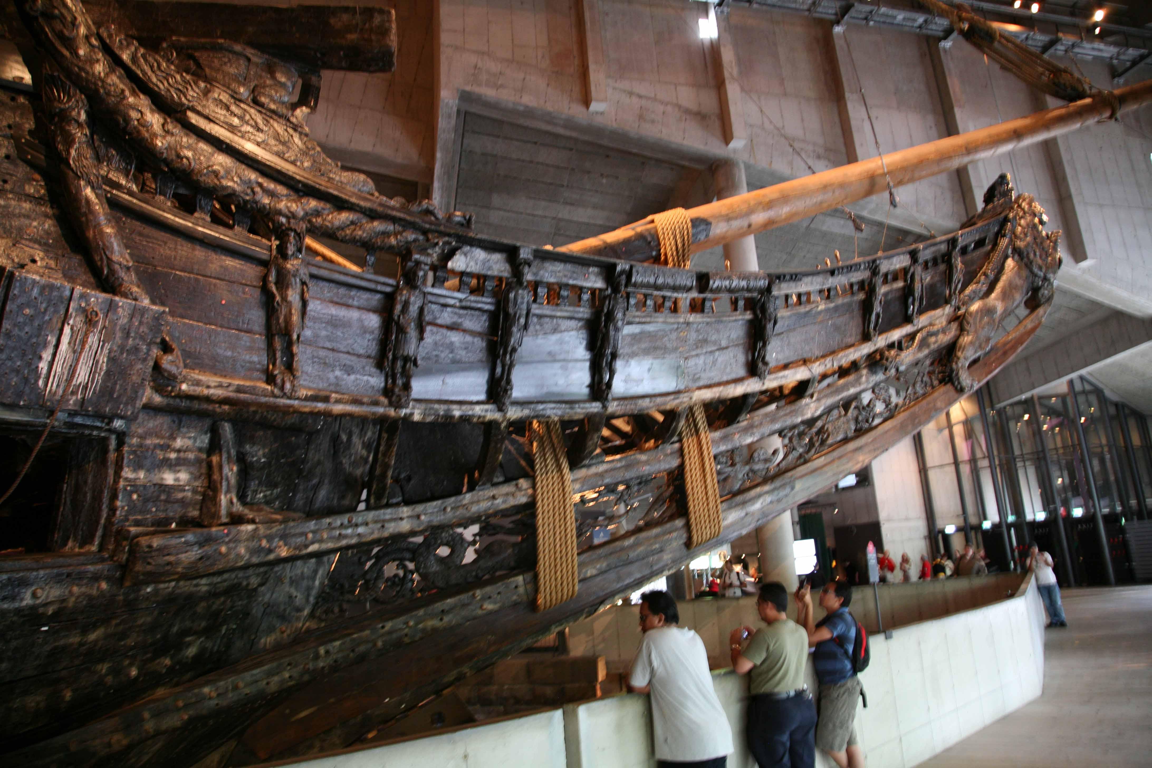 Photos of Vasa ship in...