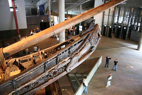 Спасенные Vasa Vasa в музее Стокгольма