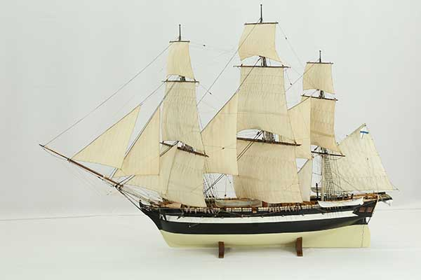 Ship model Russian sloop Nadezhda (Надежда) of 1802