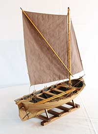 Model of an Orust jolly boat of 1890