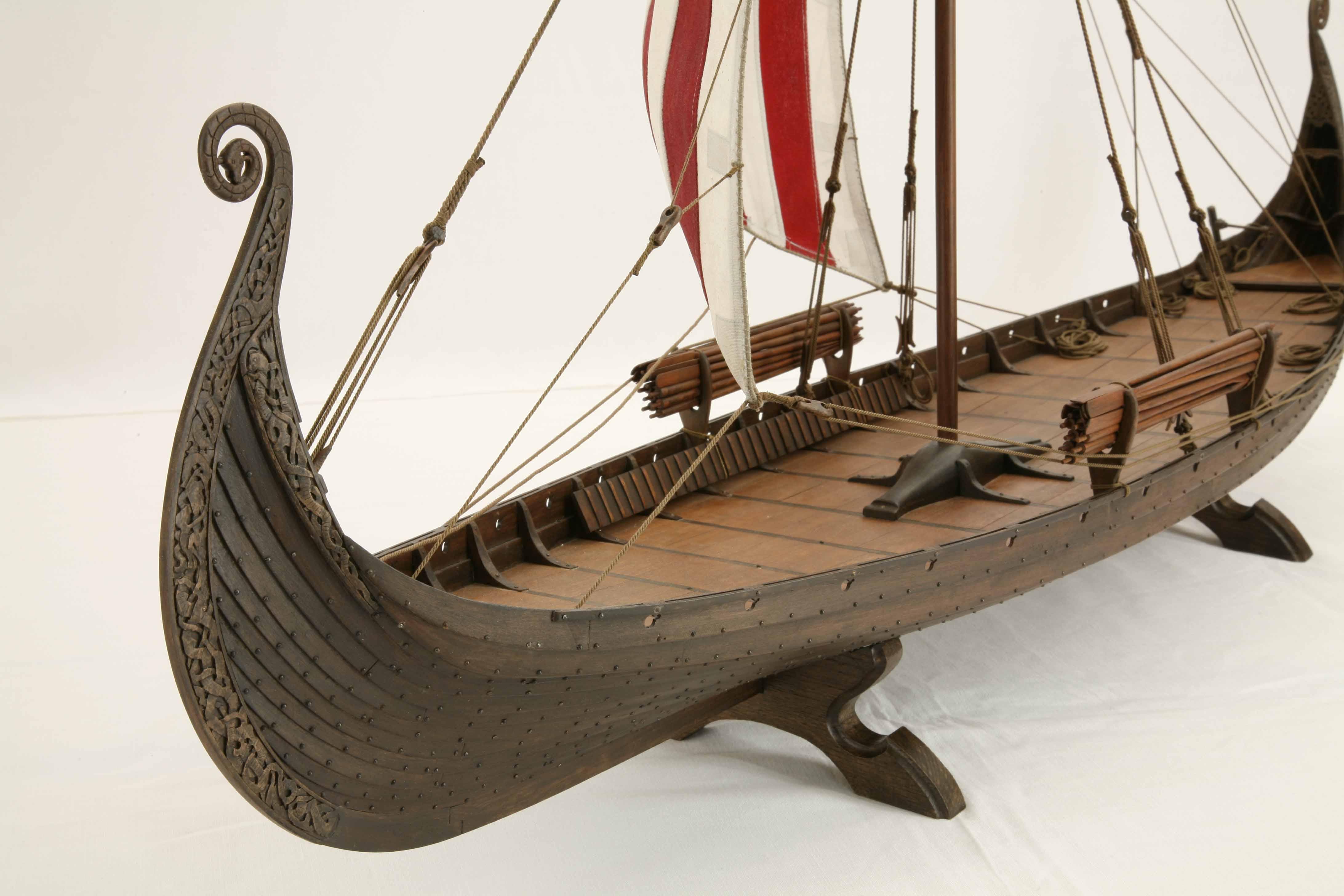Denddrochronologische Datierung der Wikingerzeitschiff-Bestattungen am oseberg gokstad und Abstimmung norway