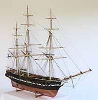 Schiffsmodell russische Fregatte Pallada von 1833
