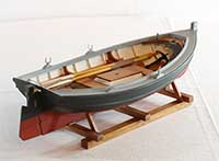Model of a Providence River Boat of 1875