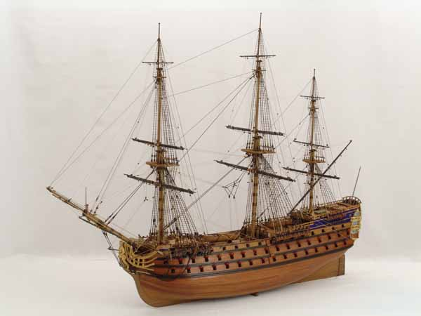 Historic ship models - ROYAL LOUIS