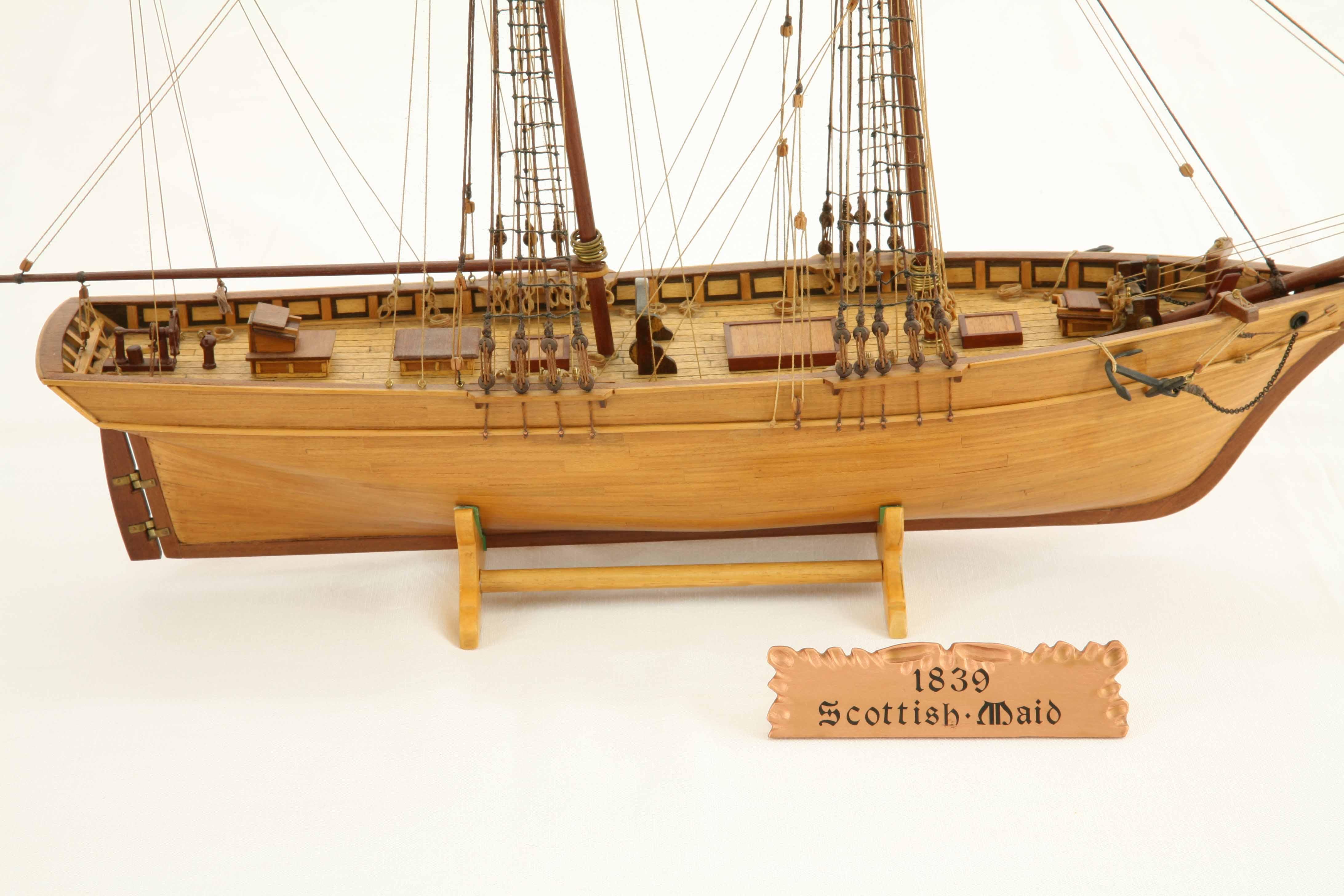 Photos of ship model S...