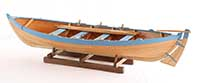 Boat model Shetland fourern of 1871