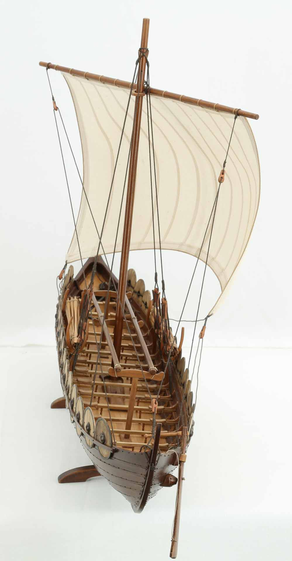 Photos Of Viking Ship Model Skuldelev 5-6575