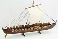 Viking ship Skuldelev 5, ship model