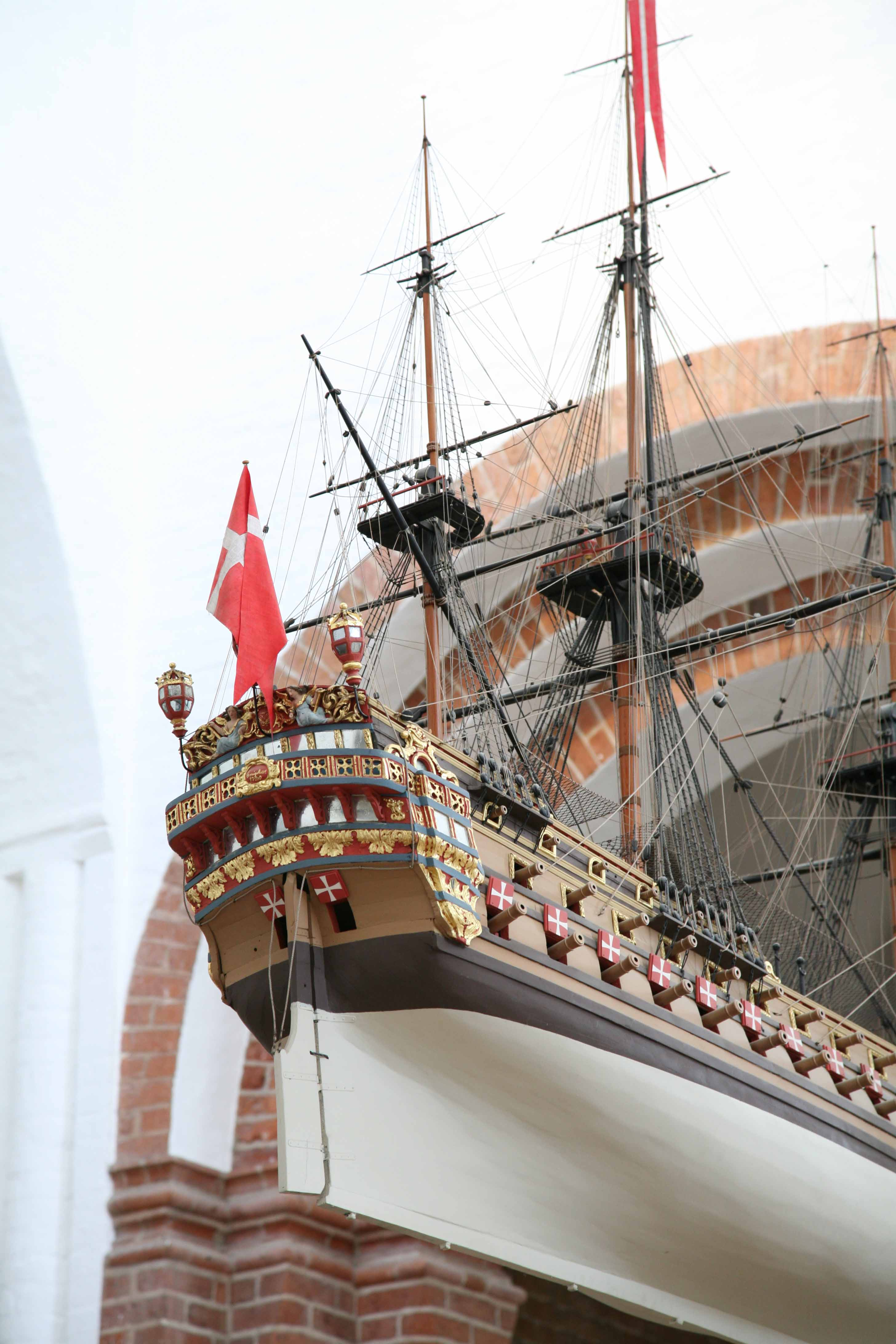 Holland And Holland >> Photos of votive ship in Arhus Cathedral, Denmark