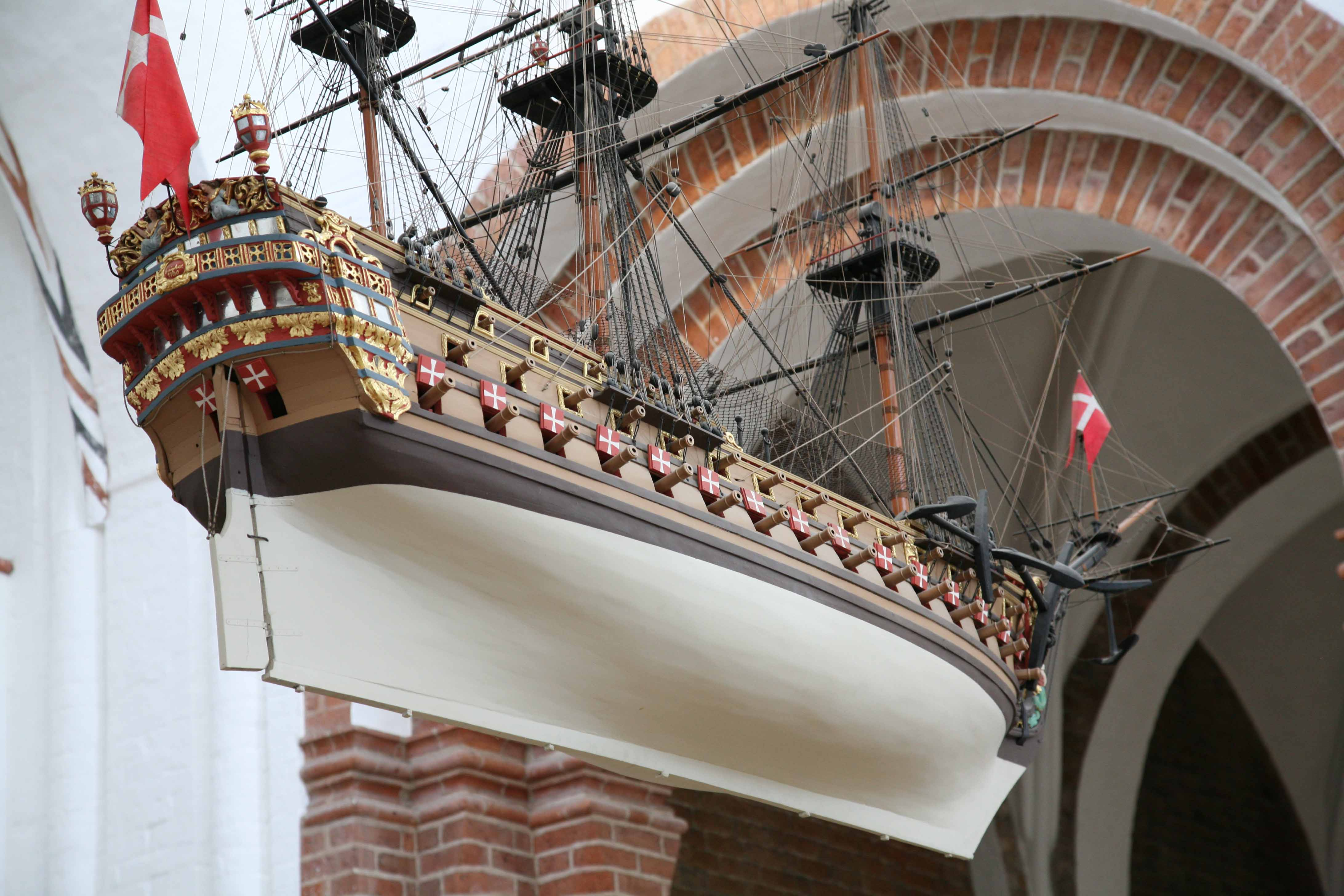 Photos of votive ship ...