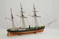 Ship model Russian screw clipper STRELOK of 1856