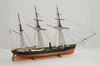 Schiffsmodell russischer Schraubenklipper STRELOK von 1856