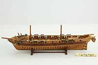 Ship model USS Oneida of 1809