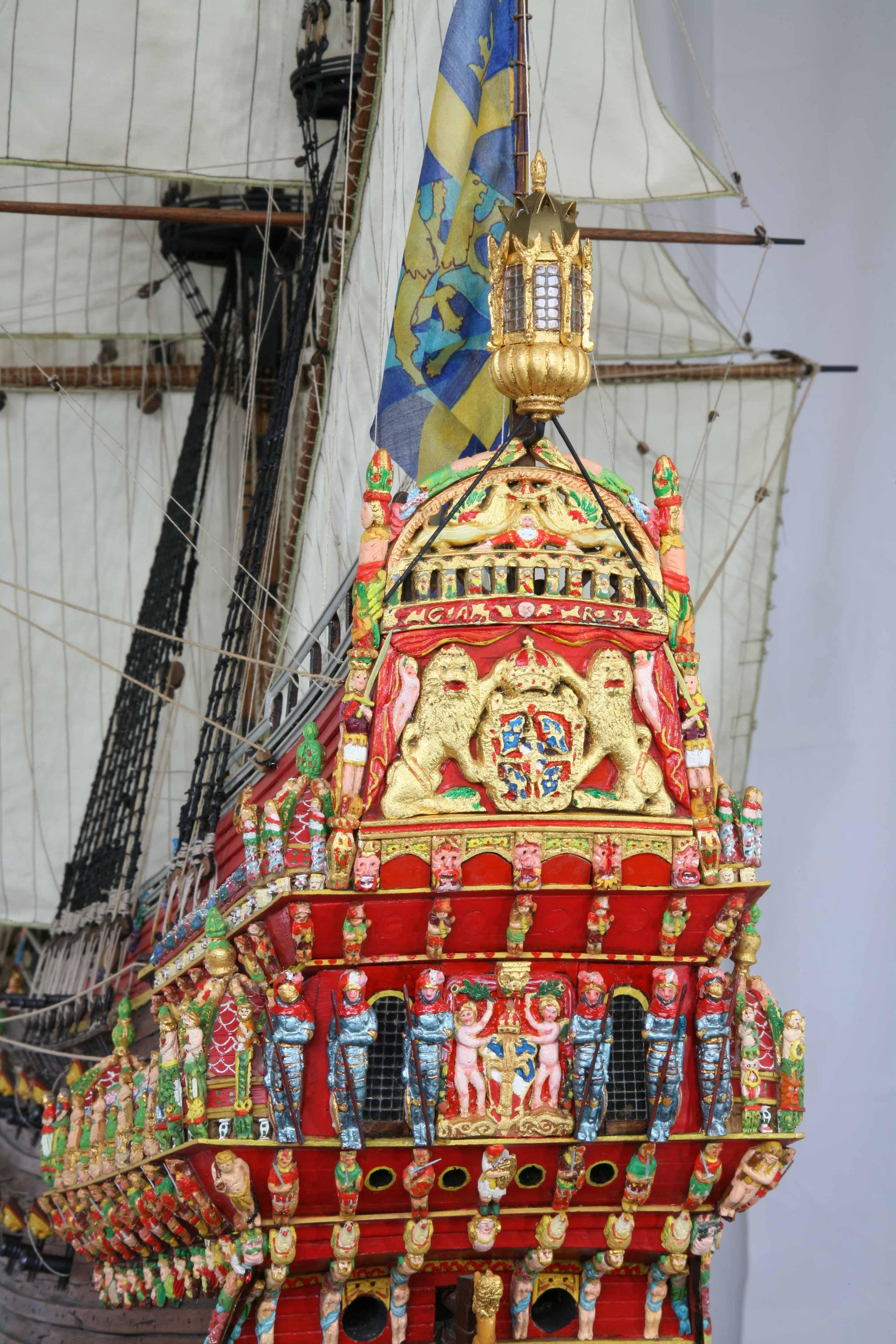 Swedish vasa of 1628 1 35 scale ship model for Vasa ship